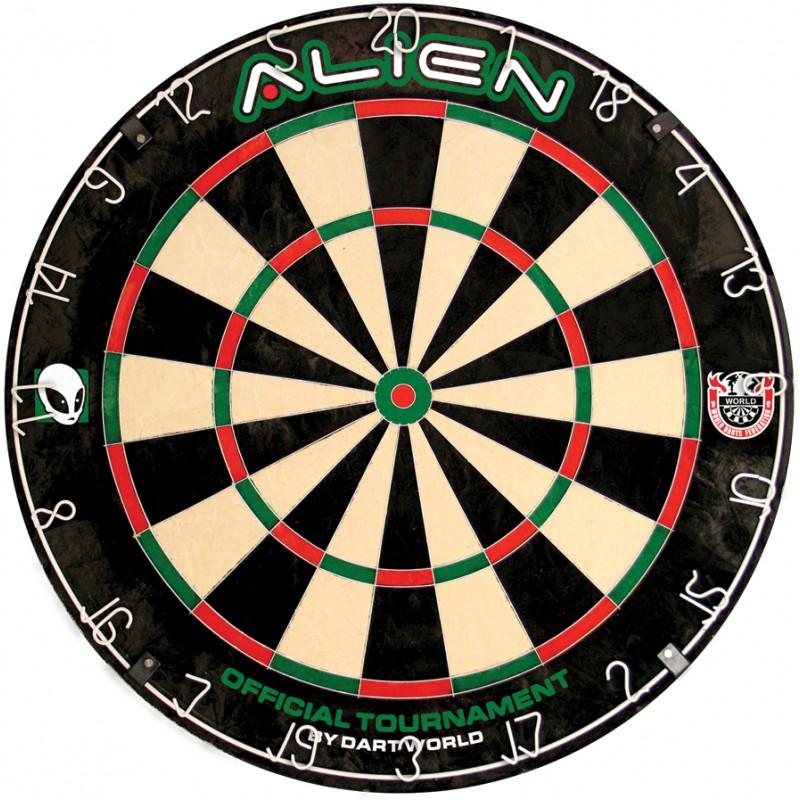 Alien Dartboard Image