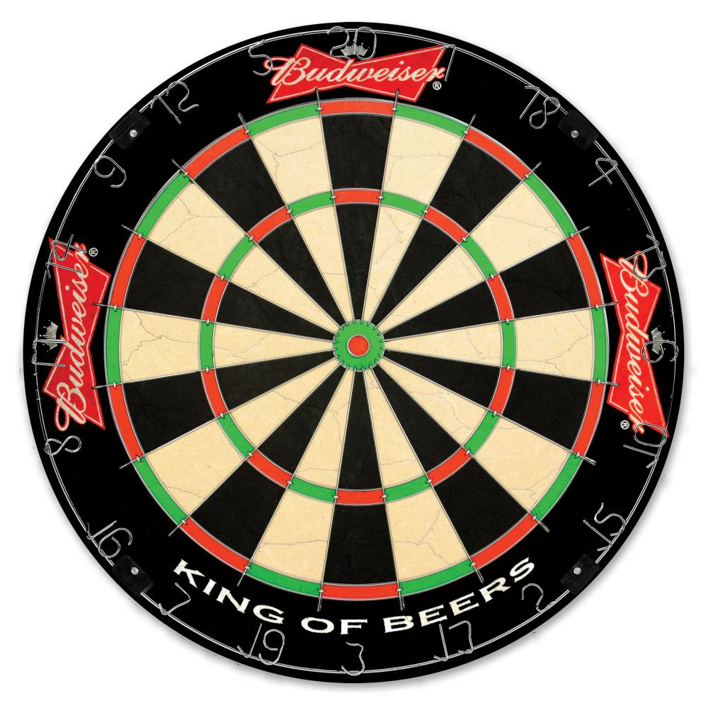 Budweiser Dartboard Image